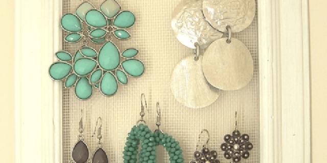 Fai da te decorare e abbellire cose di casa - Portaorecchini fai da te ...