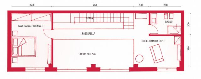 Loft una casa sottotetto a doppia altezza cose di casa - Altezza parapetti finestre normativa ...