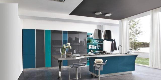 Cucine laccate bianche o colorate cose di casa - Cucine moderne colorate ...