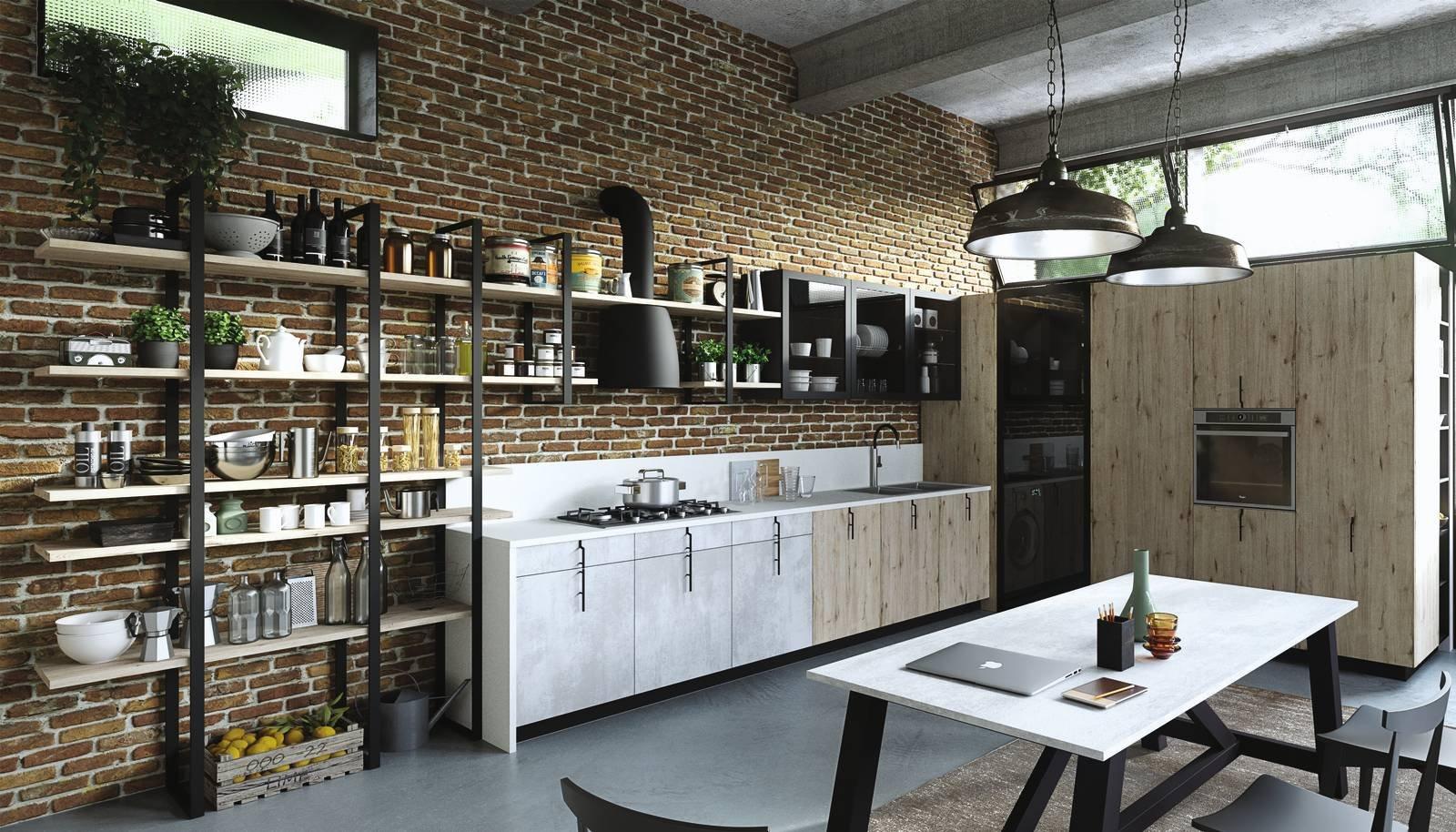 4 progetti cucina per 10 mq circa - Cose di Casa