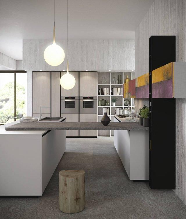 4 progetti cucina per 10 mq circa cose di casa - Sala cucina 25 mq ...