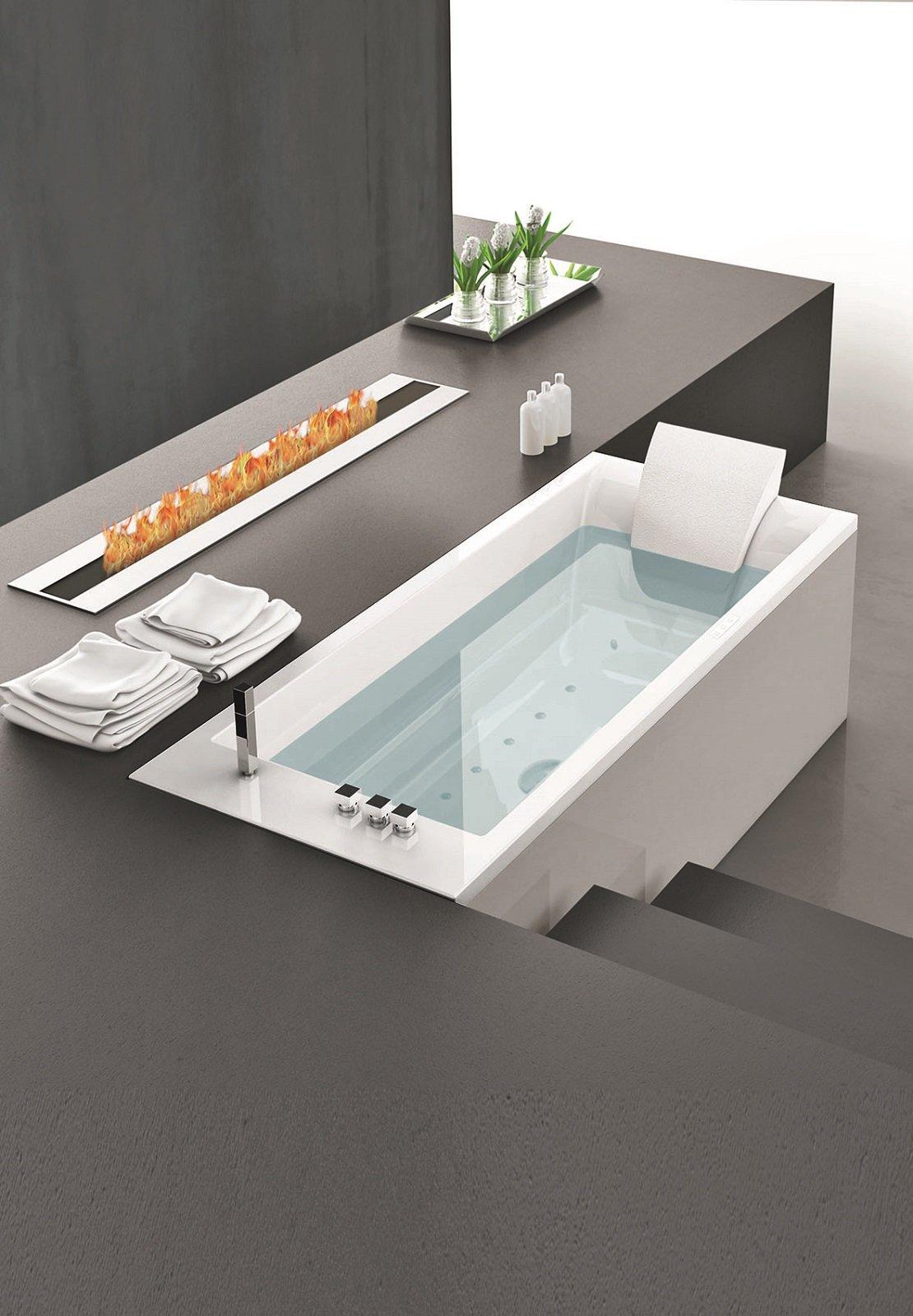 Vasca Da Bagno Misure Standard vasche di misura standard, incasso o freestanding, con
