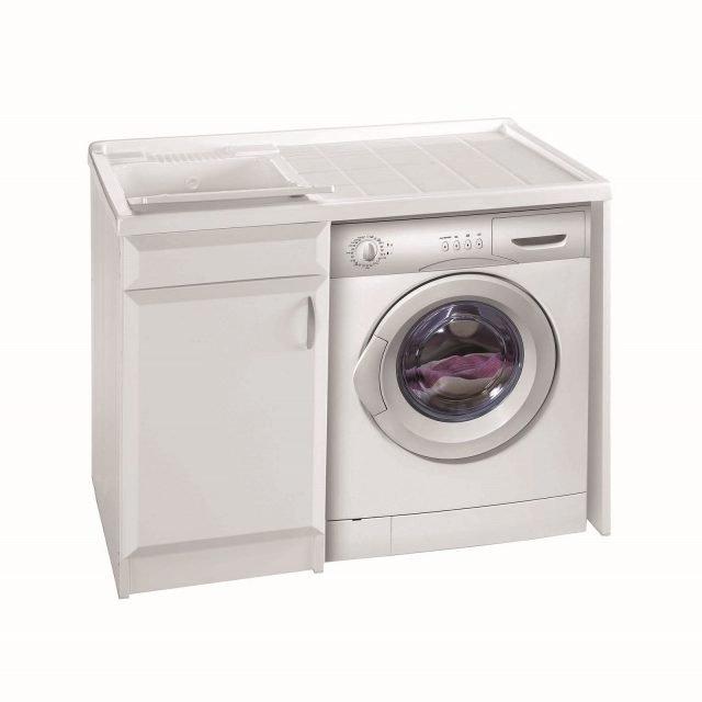 Lavanderia in bagno cose di casa - Leroy merlin mobile bagno ...