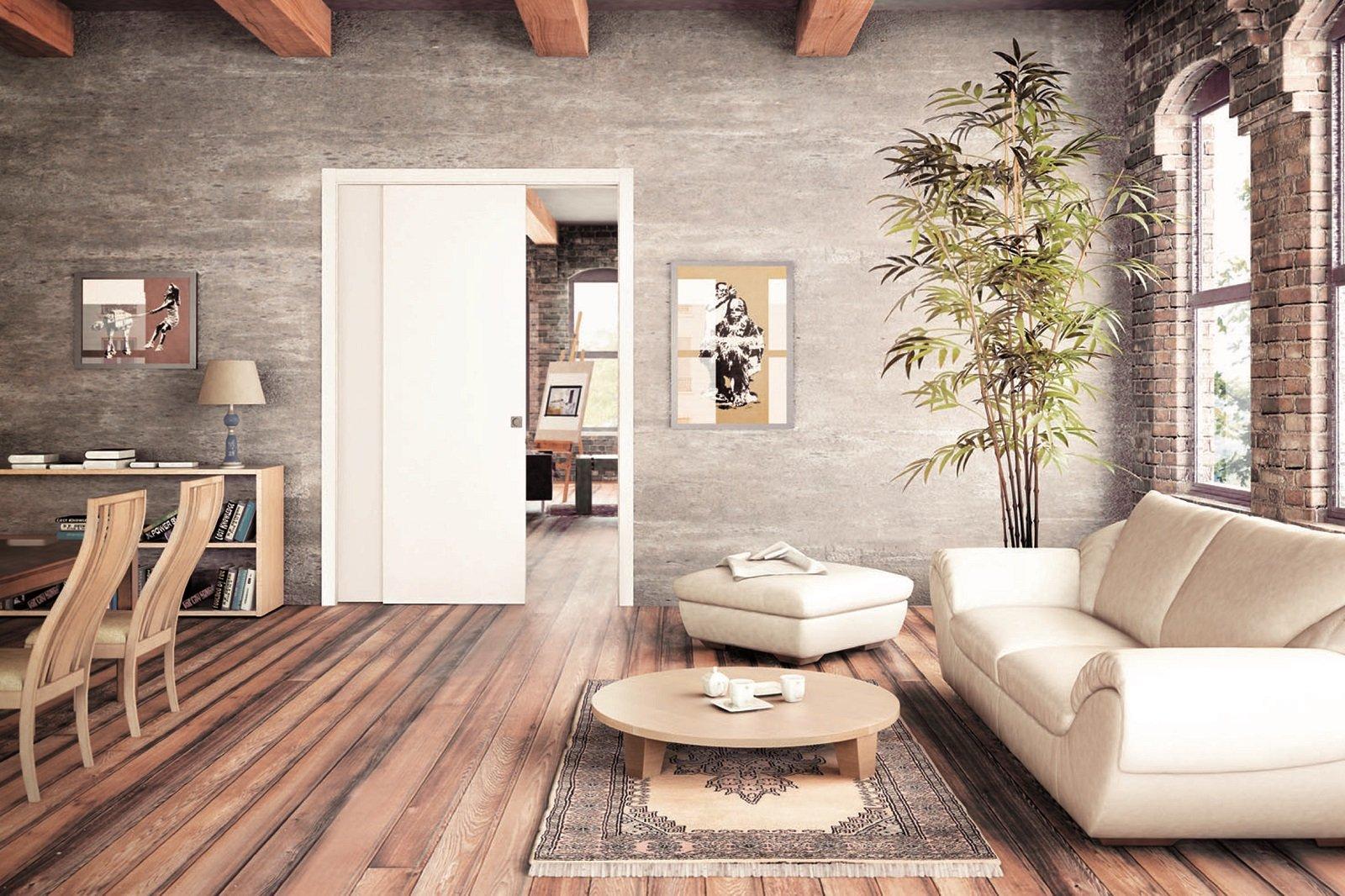 Per dividere gli ambienti o trasformarli in un unico spazio le porte scorrevoli di grandi - Aprire finestra muro esterno ...