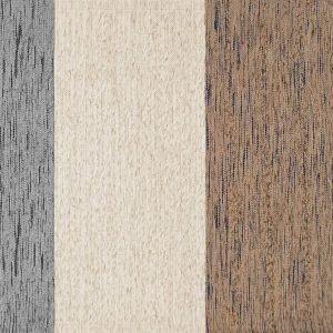 € 29 Tonalità naturali  per il tappeto  Riga di Caleffi  in tessuto misto  cotone e poliestere con retro antiscivolo. Misura  L 65 x H 110 cm.  www.caleffionline.it