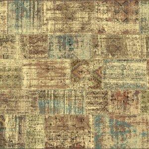 € 118 Dall'effetto volutamente vissuto, il tappeto Malizia di Sitap è realizzato in pura seta vegetale. Misura L 100 x P 140 cm. www.sitap.it