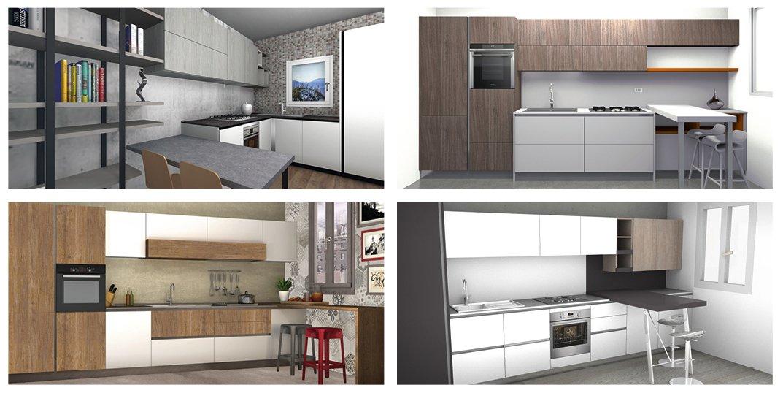 4 progetti cucina per 10 mq circa cose di casa for Progetti per ristrutturare casa