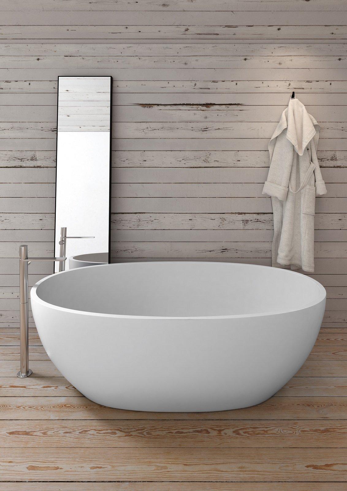 Da incasso o da libero posizionamento le vasche di misura standard si presentano in svariati for Vasca da bagno prezzi ideal standard