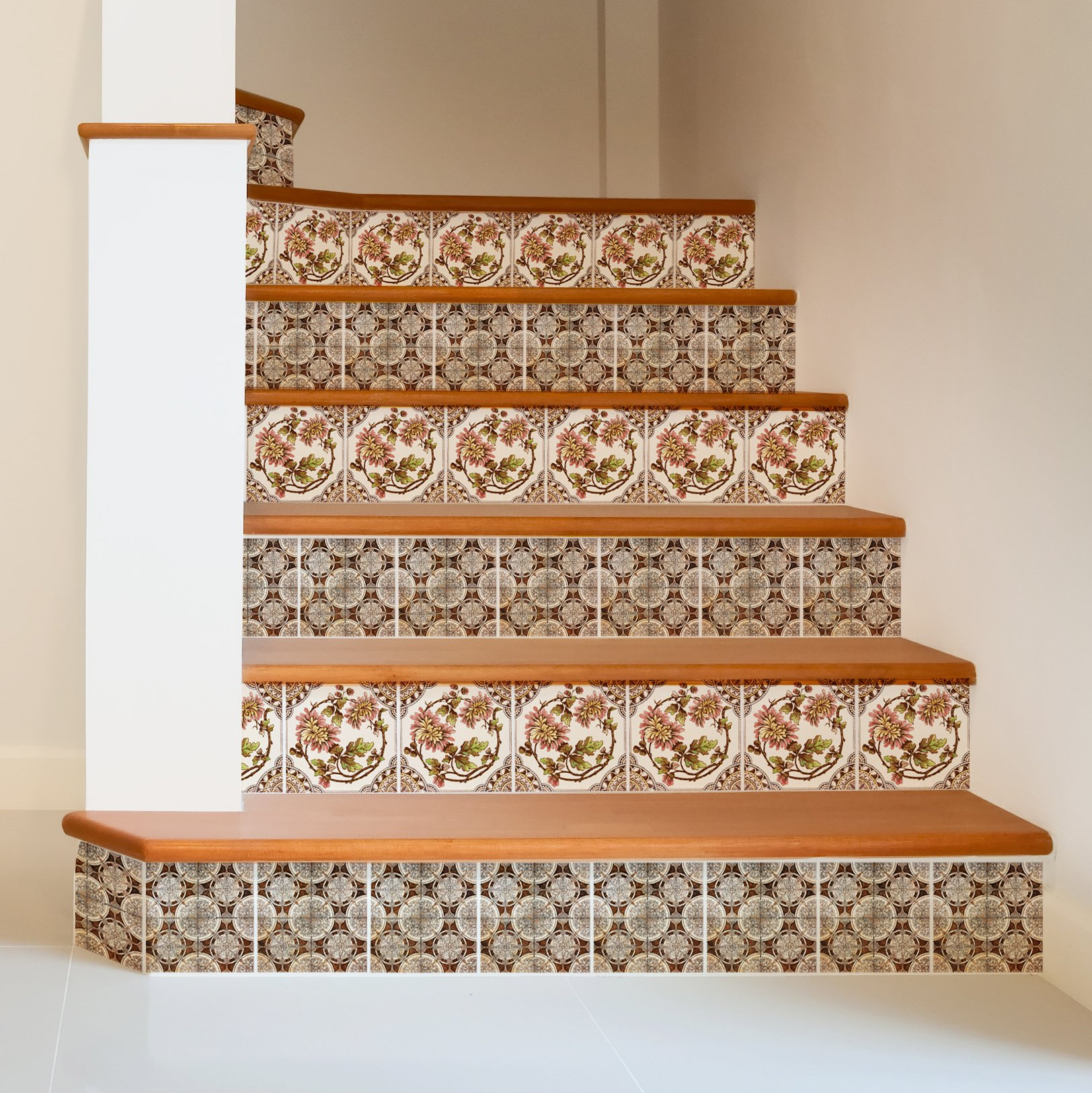 Adesivi c per parete o pavimento 14 soluzioni per un for Adesivi mattonelle cucina