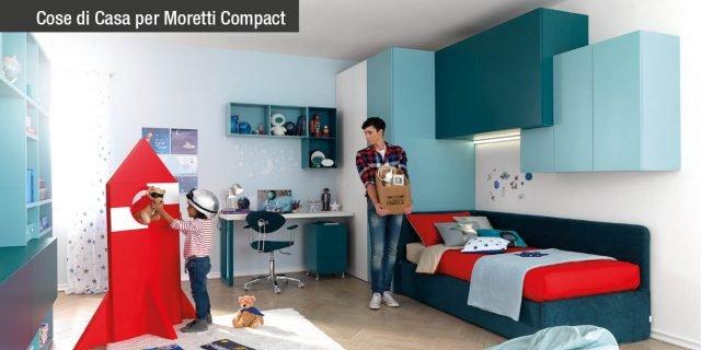 Camera ragazzi: scopri la qualità Moretti Compact