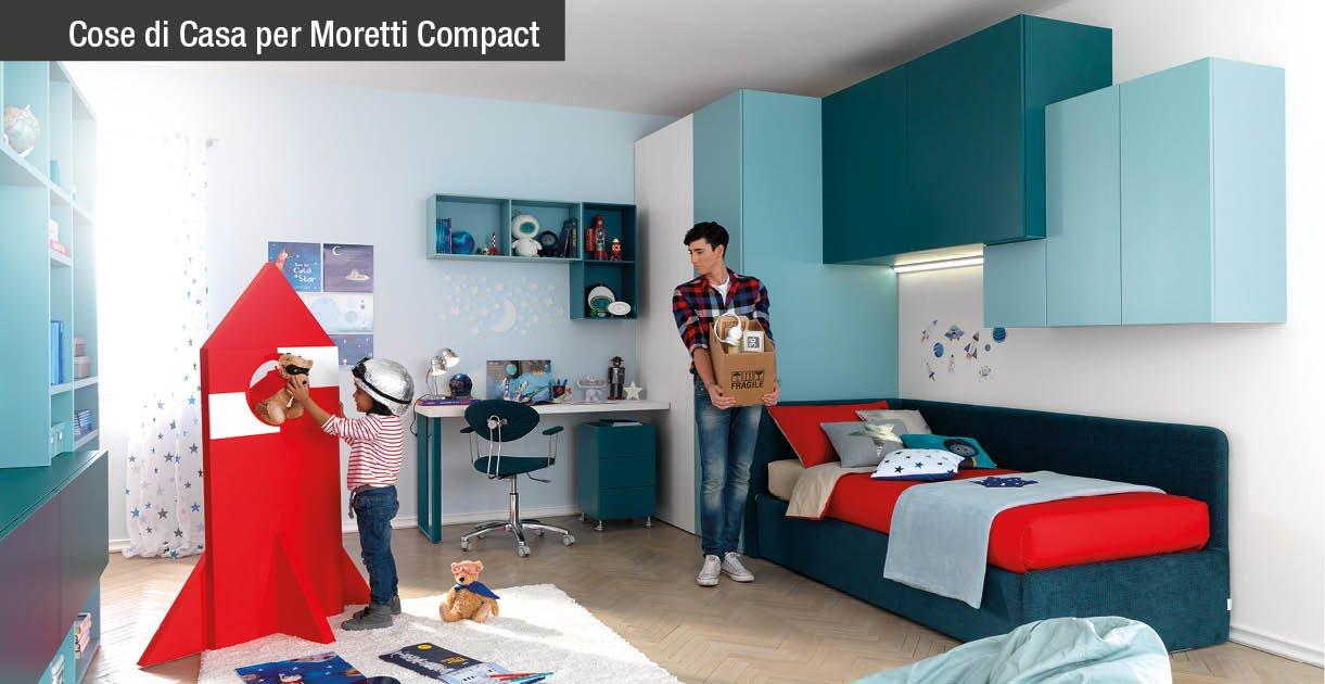 Cabina Armadio Angolare Moretti Compact : Camera ragazzi scopri la qualità moretti compact cose di casa