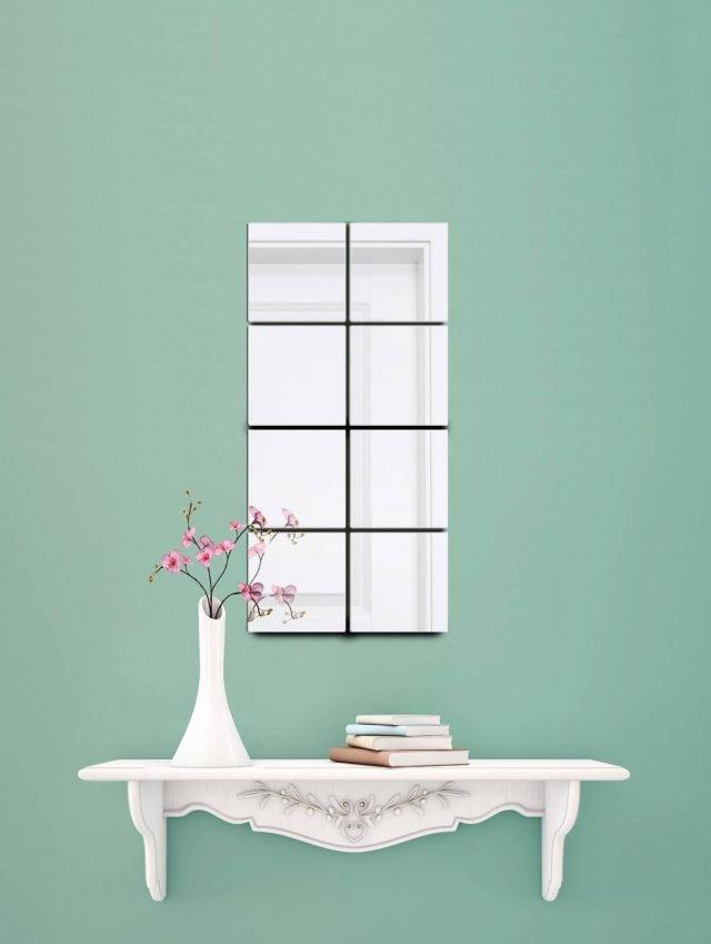 Adesivi c per parete o pavimento 14 soluzioni per un nuovo look cose di casa - Specchio adesivo ikea ...