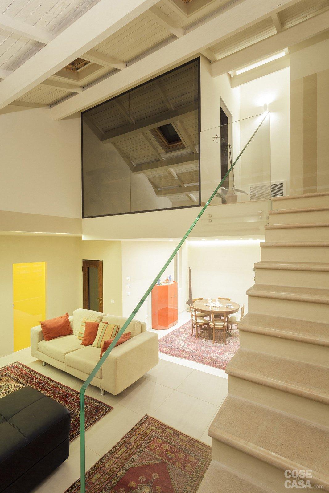Quale scala per collegare due livelli della casa cose for Piccole planimetrie della casa con soppalco