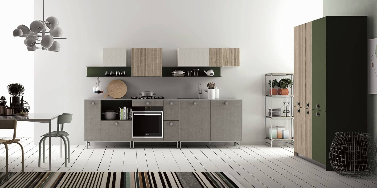 Mini cucina 5 soluzioni per la cucina piccola cose di casa for Arredare la cucina piccola