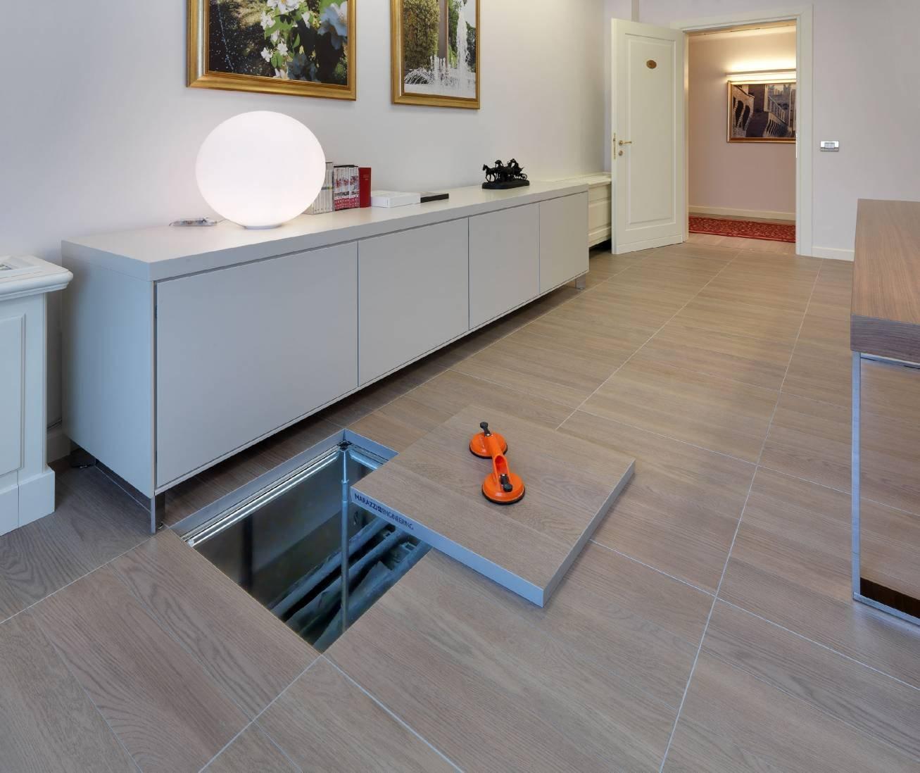 Pavimenti sopraelevati per interni e per esterno cose di for Pavimento galleggiante prezzo