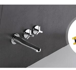 Incasso CS 234 per lavabo con rubinetto Beak