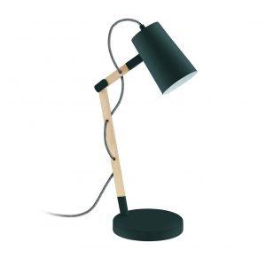 € 60* Ha la struttura snodabile  in legno la lampada  da tavolo Torona di Leroy Merlin con il diffusore  in metallo. L'altezza massima è 54 cm. www.leroymerlin.com