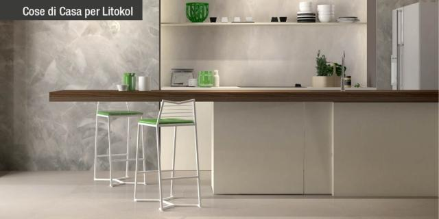 Rinnovare la cucina: nuovo pavimento senza togliere le piastrelle ...