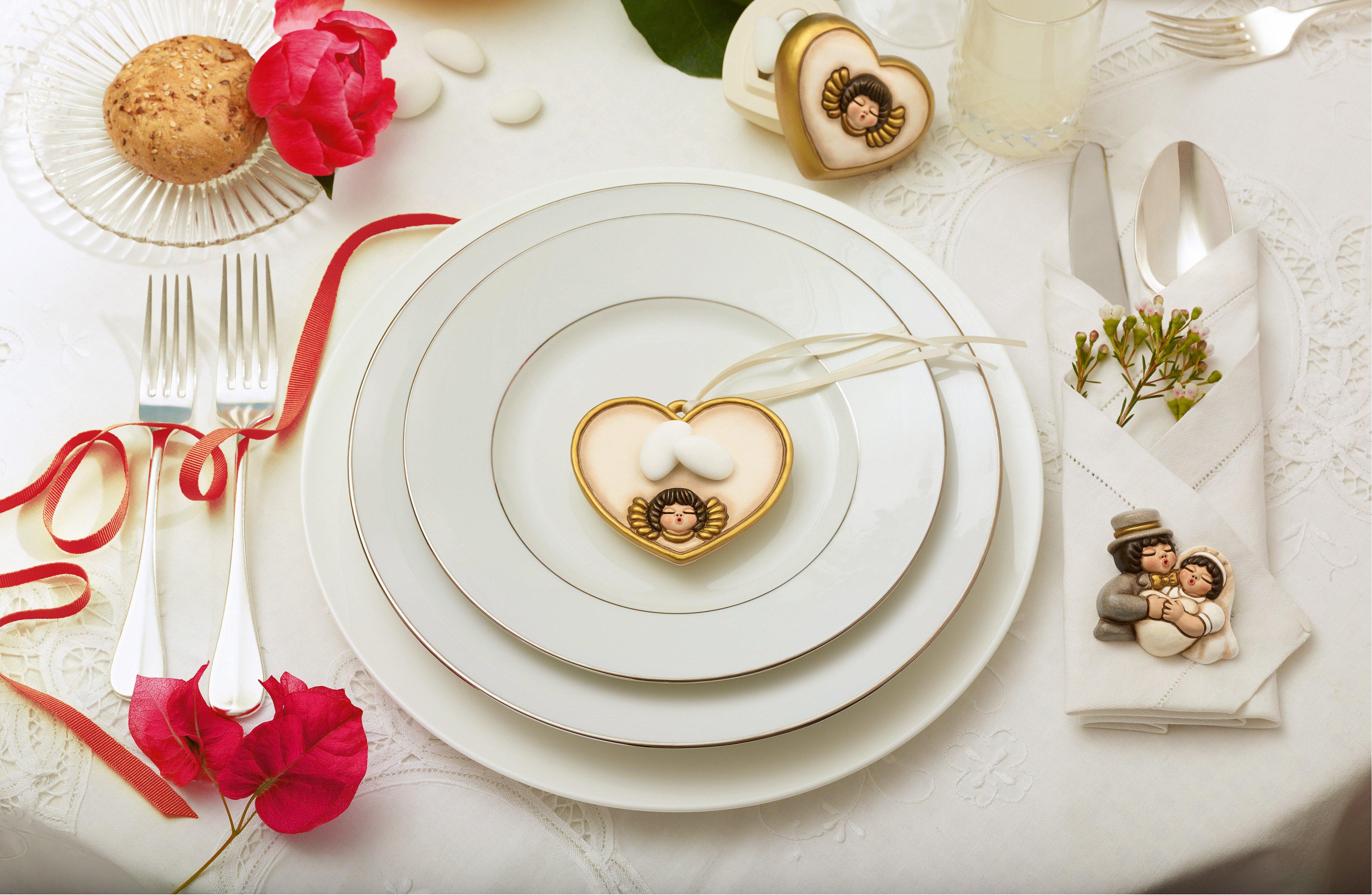 A san valentino festeggiamo con una bella tavola cose di - A tavola con thun ...