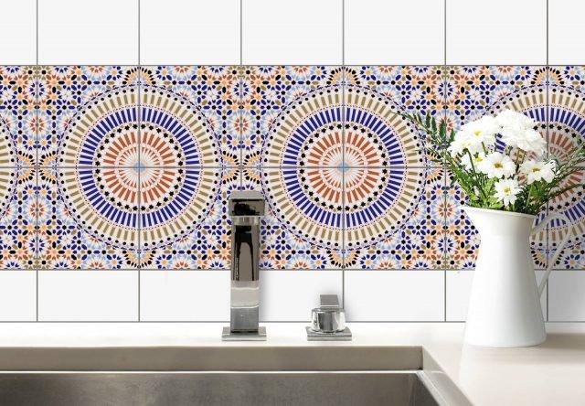 Wall -Art, piastelle marocchine 3
