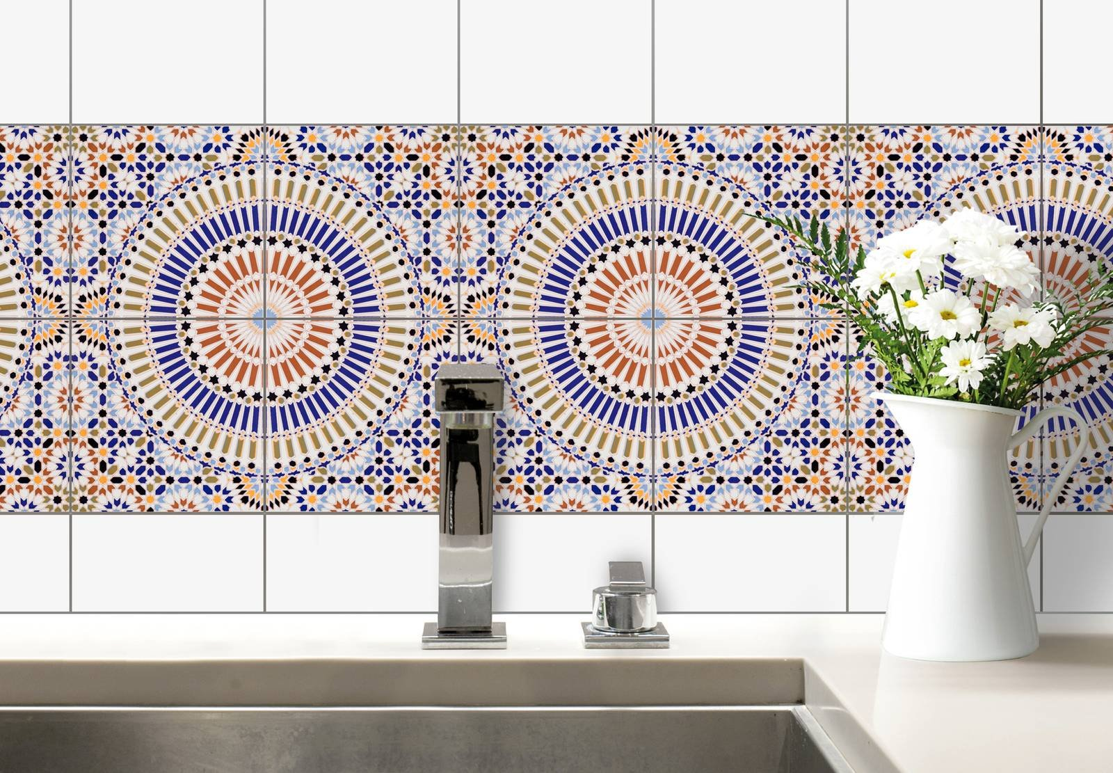 Piastrelle Decorative Per Tavoli adesivi & c. per parete o pavimento: 14 soluzioni per un