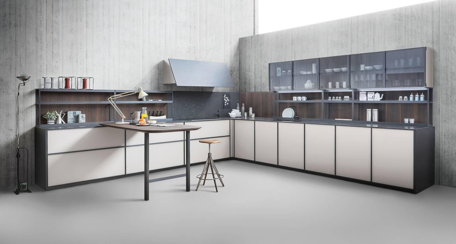 Cucina a l 10 composizioni ad angolo cose di casa - Mobili ad angolo per cucina ...