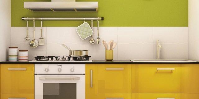 In cucina, l'allegria e la vivacità del giallo