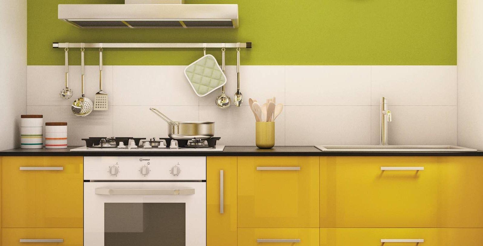 In cucina l 39 allegria e la vivacit del giallo cose di casa for Leroy merlin librerie metallo