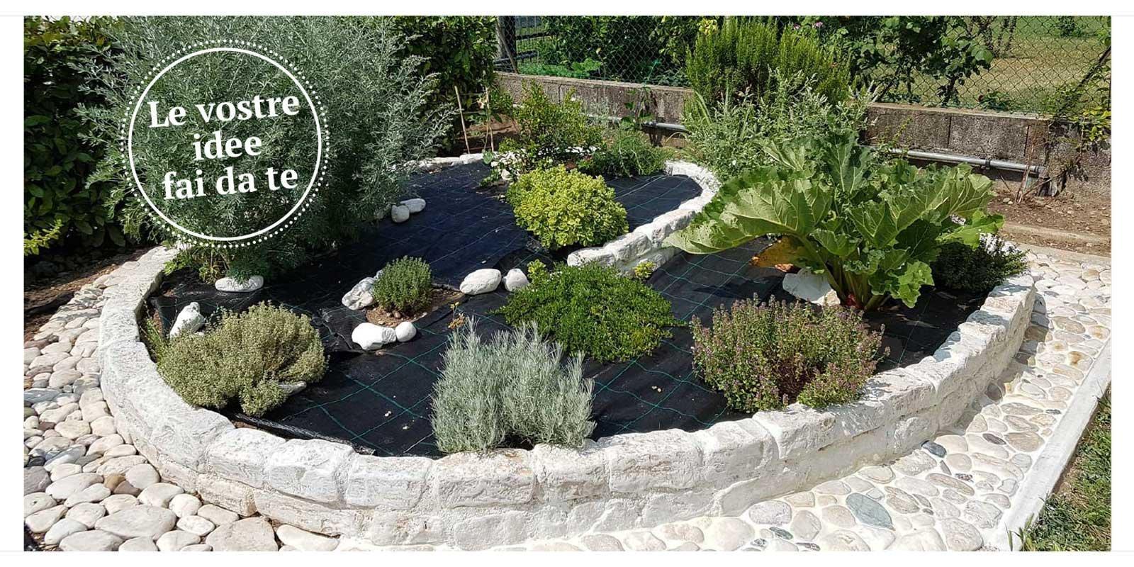 Aiuola per erbe aromatiche cose di casa for Aiuole in pietra
