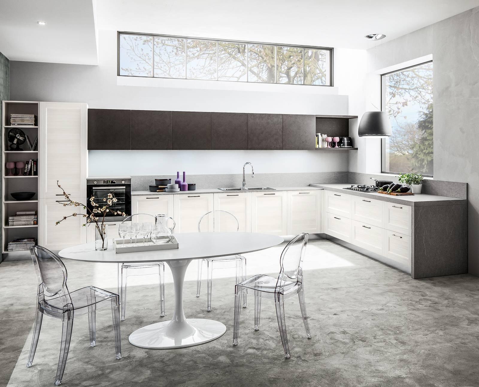Cucina a l 10 composizioni ad angolo cose di casa - Misure mobili cucina ad angolo ...