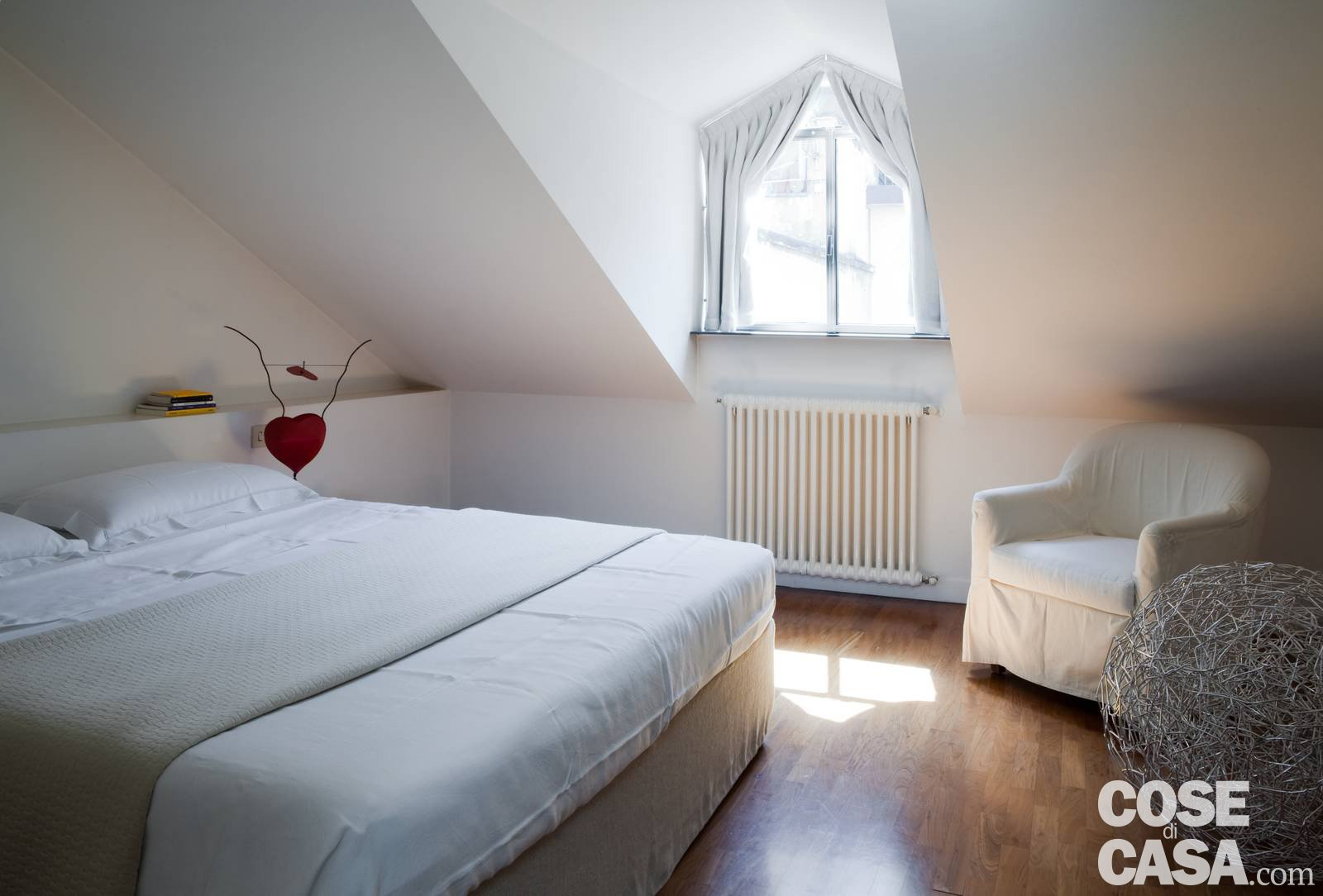 Da sottotetto a mansarda confortevole e luminosa cose di casa - Cos e un letto sommier ...