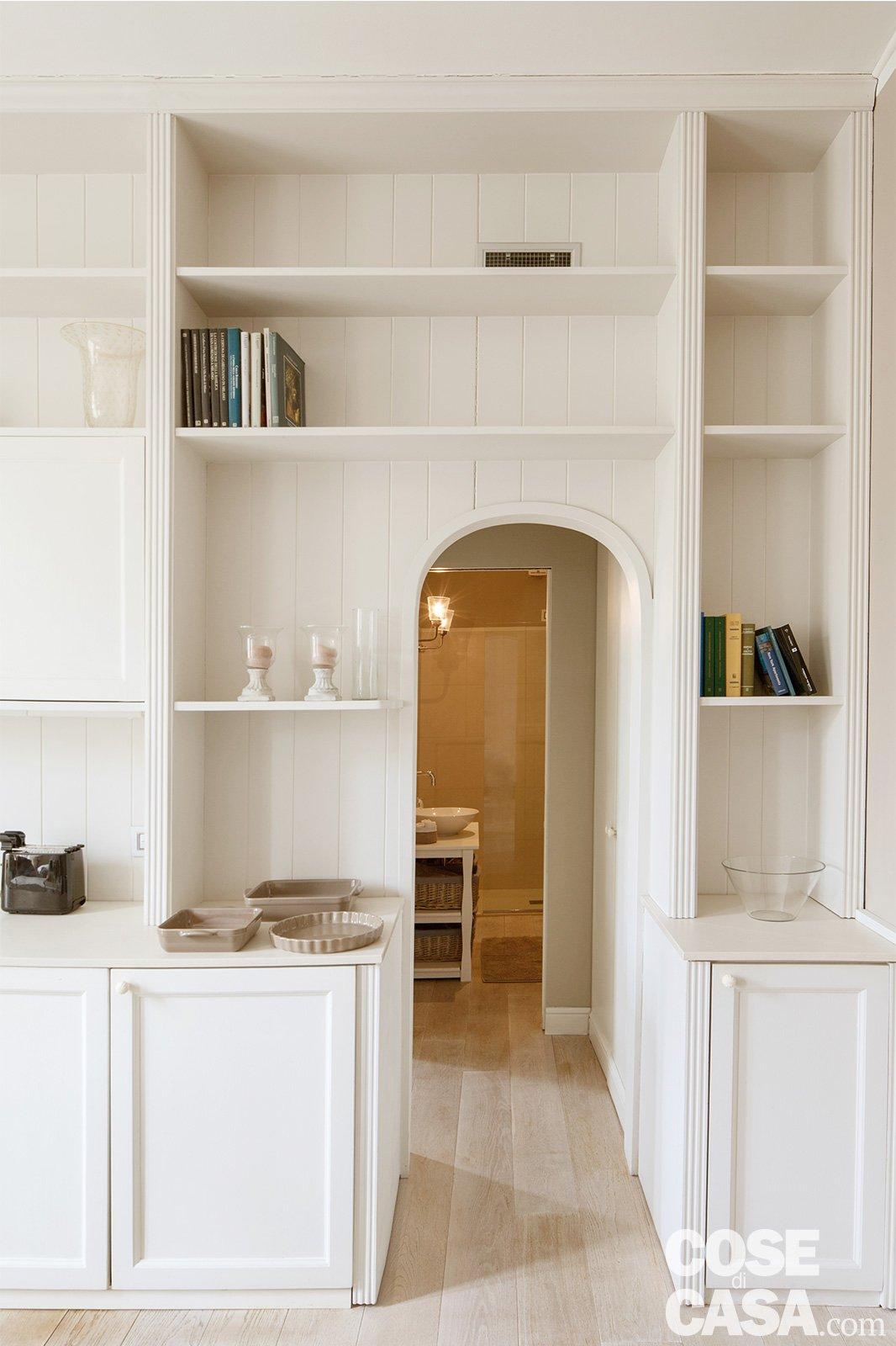 Bilocale di 43 mq: mini spazi ben sfruttati, nella casa con ...