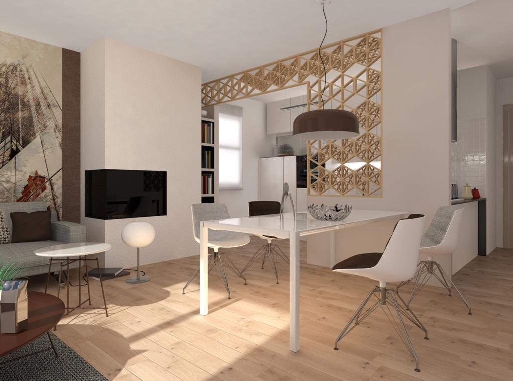 Dividere cucina e soggiorno for Idee per soggiorno cucina