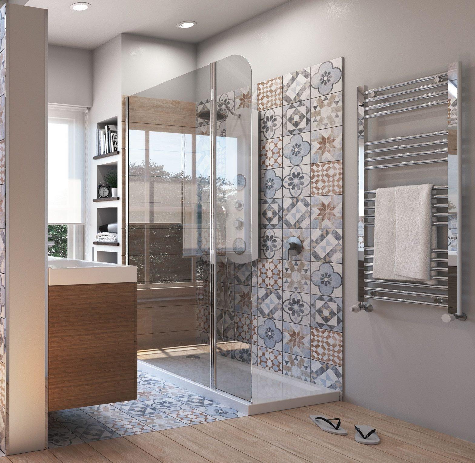 Da vasca a doccia un bagno nuovo su misura cose di casa for Lavabo pietra leroy merlin