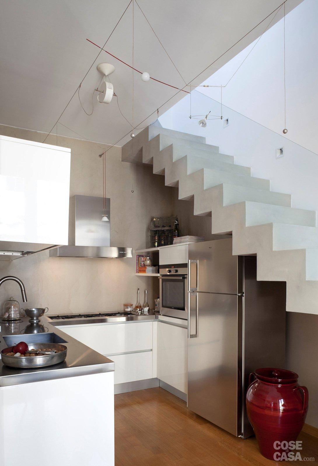 Moda arredare scala interna ku19 pineglen - Scale di casa ...