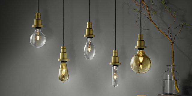 Lampadine vintage: la nuova estetica della luce