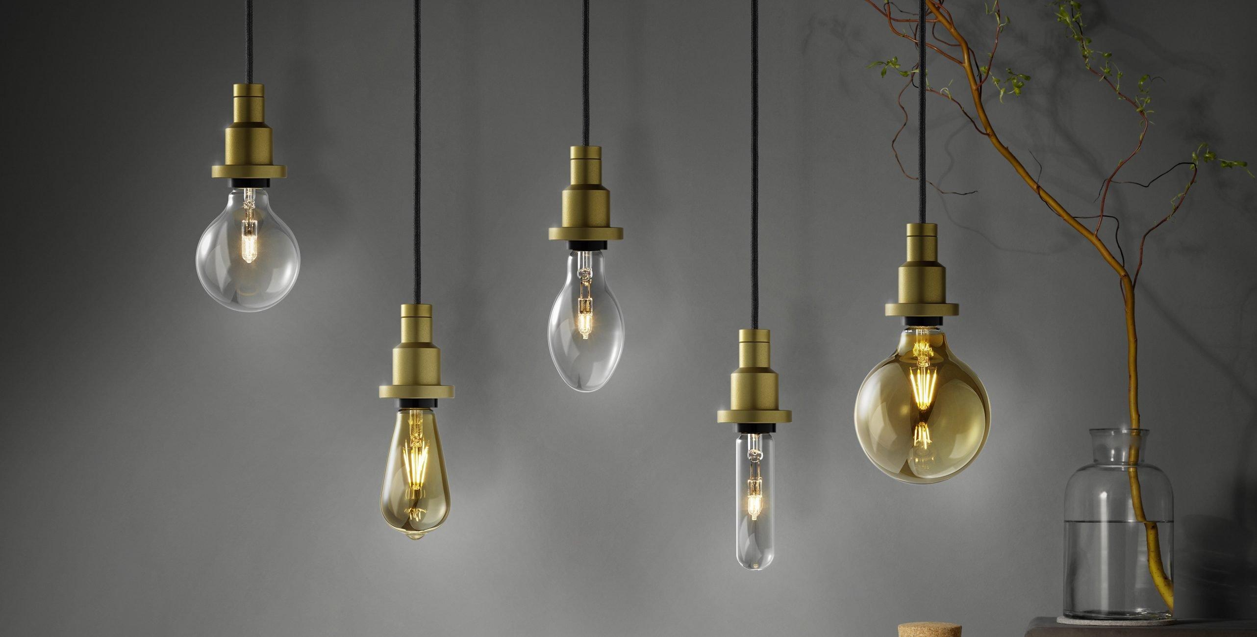 lampadine vintage la nuova estetica della luce cose di casa. Black Bedroom Furniture Sets. Home Design Ideas