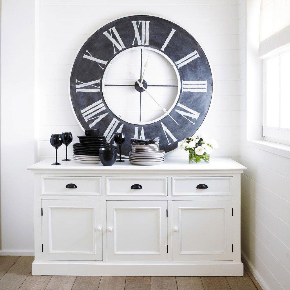 Maison Du Monde Credenze Bianche madia, sospesa o su piedini - cose di casa