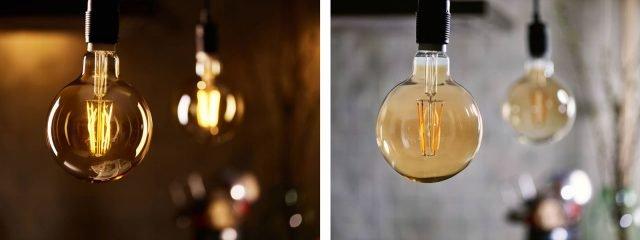 La lampadina LED Classic Globo di Philips, dalla forma sferica pura ed elegante, ricrea l'atmosfera delle lampadine a incandescenza grazie alla riproduzione dei filamenti tradizionali ma consuma l'80% in meno di energia e dura dieci volte più a lungo (15.000 ore). Vetro chiaro, di potenza equivalente ai 60W, ha l'attacco a vite Edison grande di tipo E27 e temperatura di colore di 2.700 K. Prezzo 12,99 euro. www.philips.it
