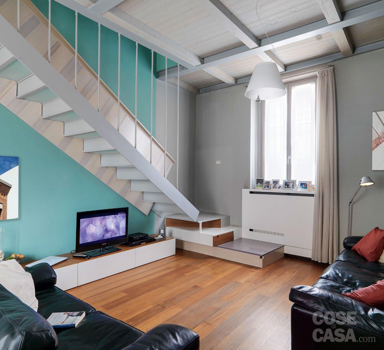 Quale scala per collegare due livelli della casa cose di casa - Scale per appartamenti ...