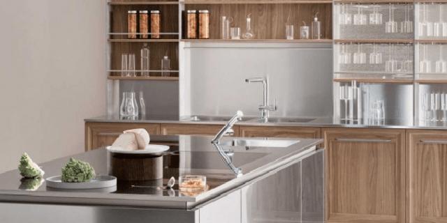Piano di lavoro in cucina: materiali e caratteristiche