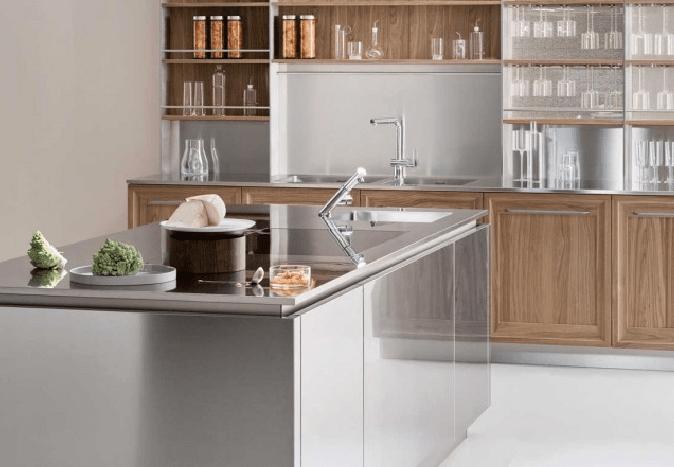 Piano di lavoro in cucina materiali e caratteristiche - Piano lavoro cucina ...