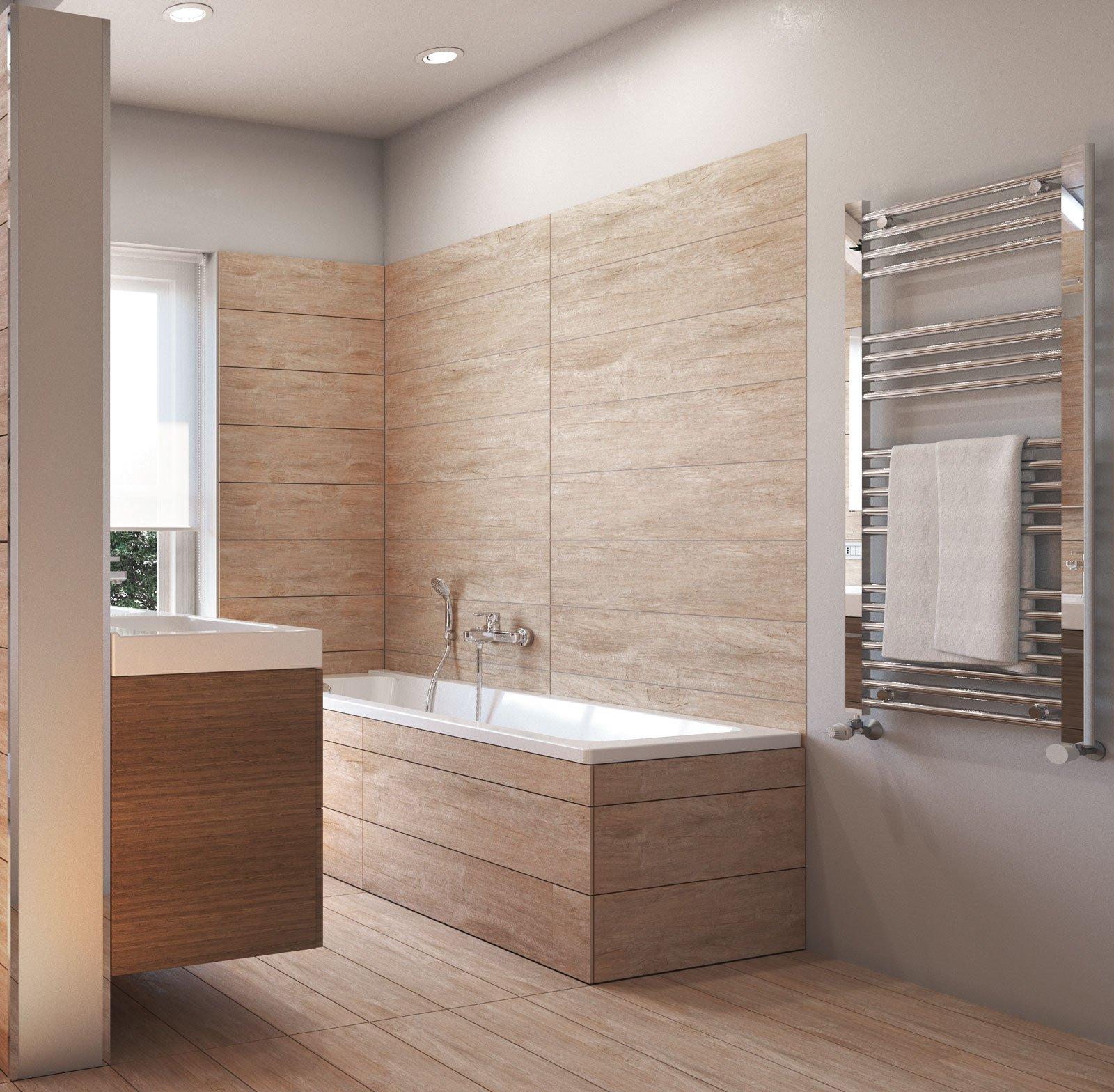 Da vasca a doccia un bagno nuovo su misura cose di casa - Lucidare vasca da bagno vetroresina ...