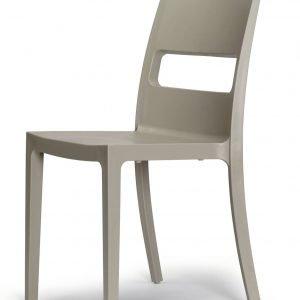 € 93*  Costo di due sedie impilabili Sai di Scab Design in tecnopolimero rinforzato con fibra  di vetro. Una misura  L 48 x P 51 x H 82 cm. www.scabdesign.com