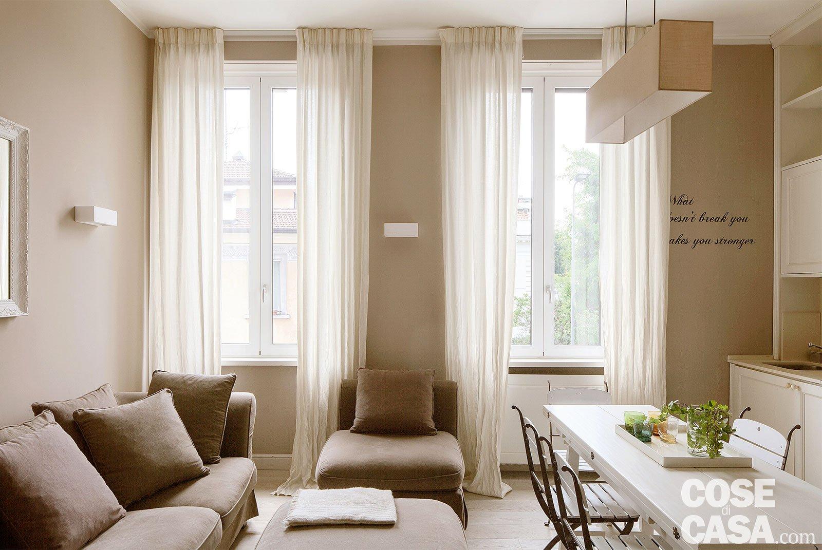 Ristrutturare Appartamento 35 Mq bilocale di 43 mq: mini spazi ben sfruttati, nella casa con