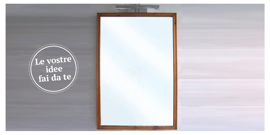 fai da te - decorare e abbellire - cose di casa - Fino A Che Punto Deve Essere Uno Specchio Sopra Un Lavandino