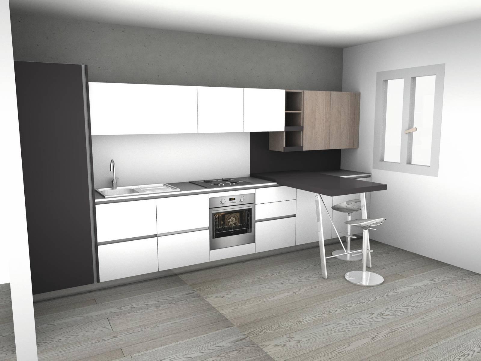 progetto cucina in muratura 3d cd45 regardsdefemmes