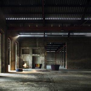 All'ex Fabbrica Orobia, lo spazio dedicato a Paola Lenti.