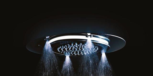 Soffioni doccia: lo vuoi a pioggia, a cascata, rotante… ?