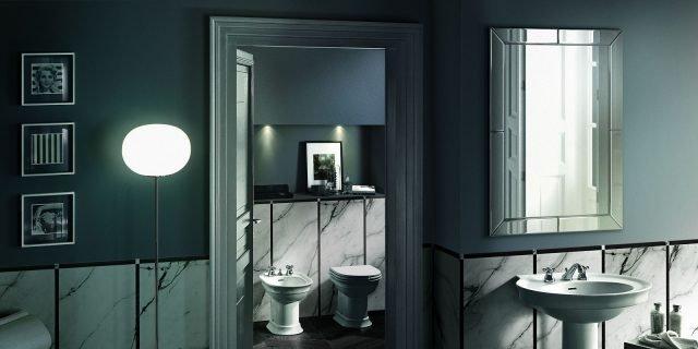 Sanitari in stile classico per un bagno nuovo ma come quelli di una volta